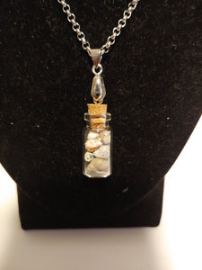 Stainless Steel Beach Seashell Necklace