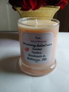 Strawberry Buttercream Candle's