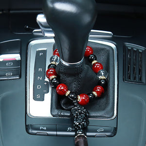 Car Ornaments Buddha Beads With Brave Troops
