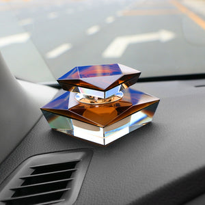 Luxury Artificial Crystal Perfume Seat Automotive Decoration Air Freshener