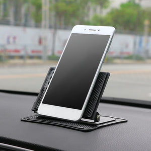 360 Rotating Phone Holder Non-Slip Mat Adjustable Angle Sticky Pad