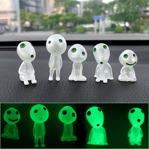 5pcs/lot Car Ornaments Resin Tree Elves Doll