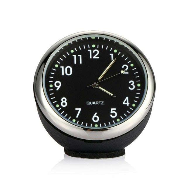 Car Digital Clock With Thermometer Hygrometer
