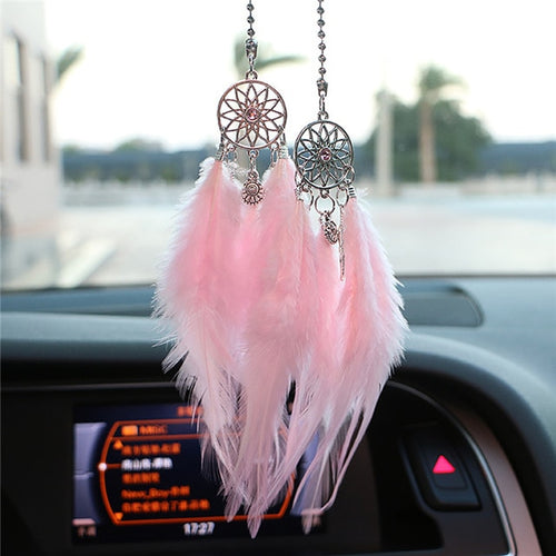 Mini Dream Catcher Car Pendant