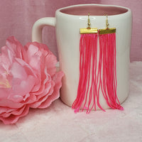Medium Tassel Earrings