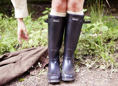 "Barbour ""Wellies"" Gumboots"