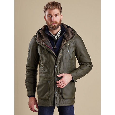Barbour Men's Brindle Wax Jacket