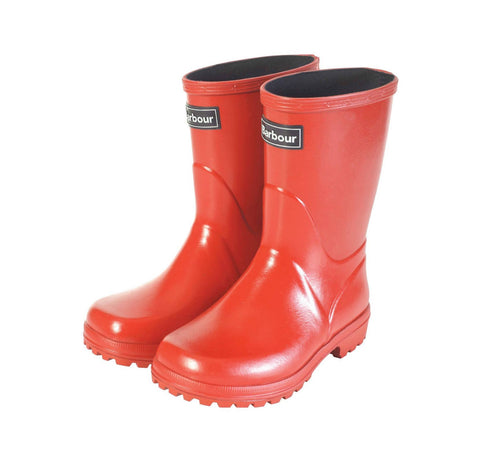 Red Children's gumboots