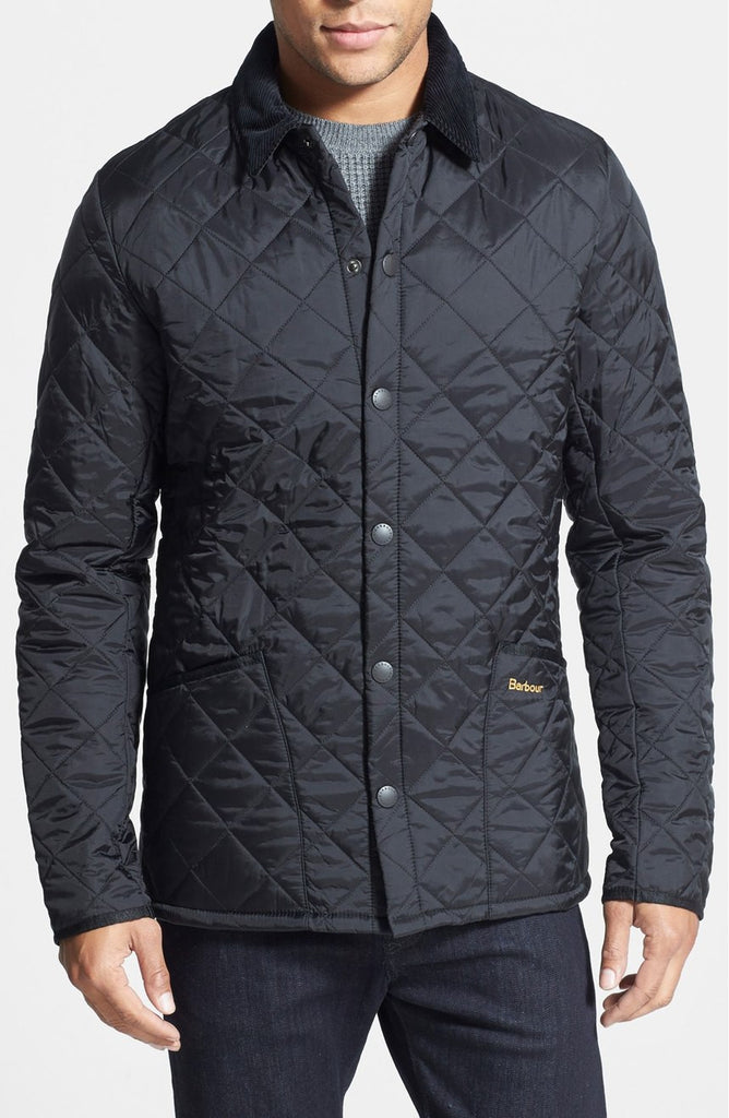 BARBOUR MEN'S HERITAGE LIDDESDALE JACKET - Navy and Olive