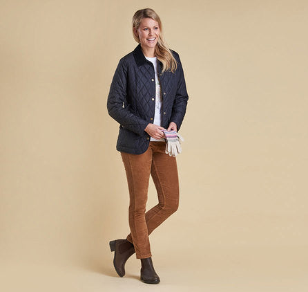 BARBOUR WOMEN'S SADDLEWORTH QUILTED JACKET