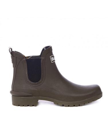 NEW Barbour Wilton SHORT Rubber Wellie