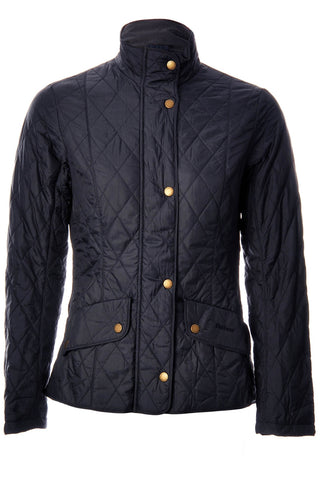 BARBOUR WOMEN'S FLYWEIGHT CAVALRY QUILTED JACKET - Navy or Dark Stone