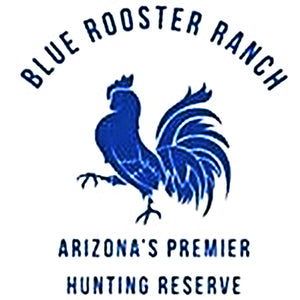 Blue Rooster Hunting Ranch Logo