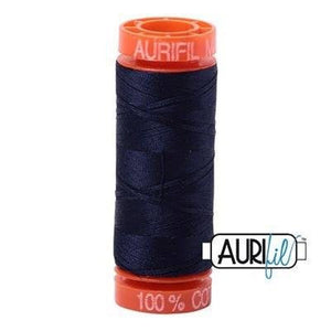Aurifil Very Dark Navy 2785 50wt 200m