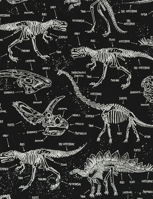 Timeless Treasures Glow in the Dark Dinosaur Bones