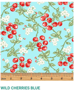 Garden Party by Eleanor Burns Wild Cherries Blue