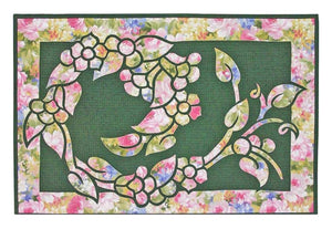 Hawaiian Garden Wreath Quilt Pattern