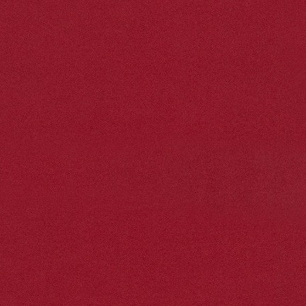 Robert Kaufman Cozy Cotton Flannel Solid Scarlet