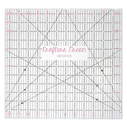Quilters Dream 12.5 x 12.5 Ruler