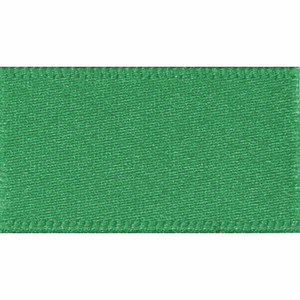 Double Satin Ribbon 25mm Bottle Green