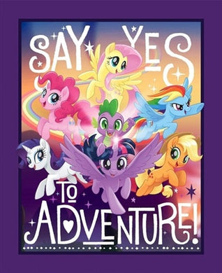 My Little Pony Say Yes to Adventure Panel