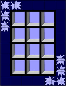 Attic Windows Quilt Pattern PDF
