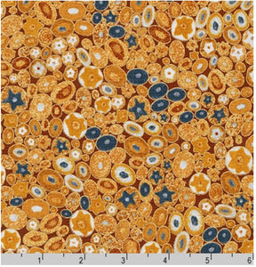 Robert Kaufman Gustav Klimt Pebbles Gold