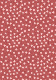 Lewis and Irene Michaelmas Small Floral on Soft Red