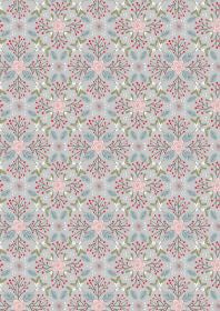 Lewis & Irene Winter in Bluebell Woods Winter Floral Grey
