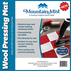 Mountain Mist Wool Pressing Mat 13.5 X 13.5 inch