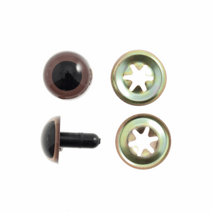 Trimits Brown Safety Toy Eyes 10mm