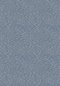Gentle Waves on Dark Grey Blue