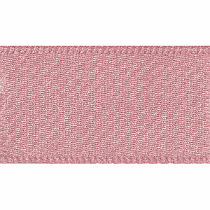Double Satin Ribbon 25mm Dusky Pink