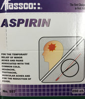 Item #557 Aspirin, 250 Ct