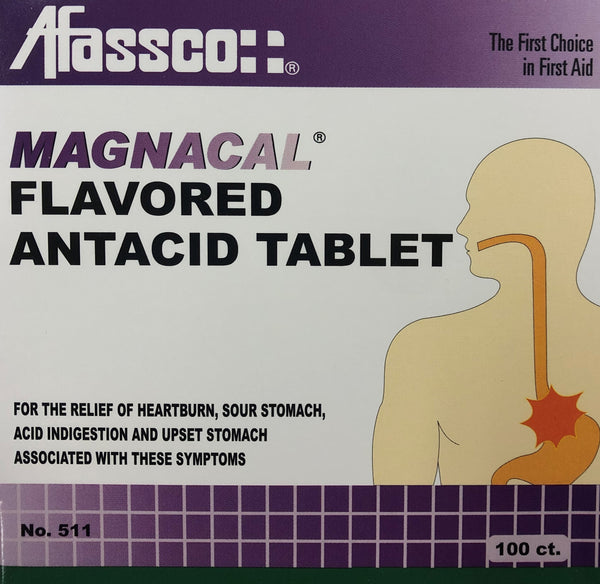 Item #511 Magnacal Antacid, 100 Ct