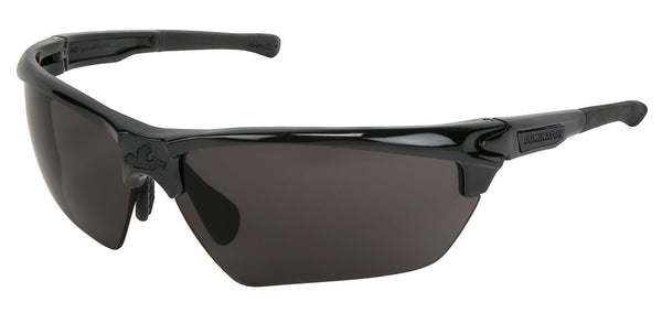 DM1332PF - Dominator™ 3, Black Frame, Black TPR, Gray Max6™ Anti-Fog lens coating