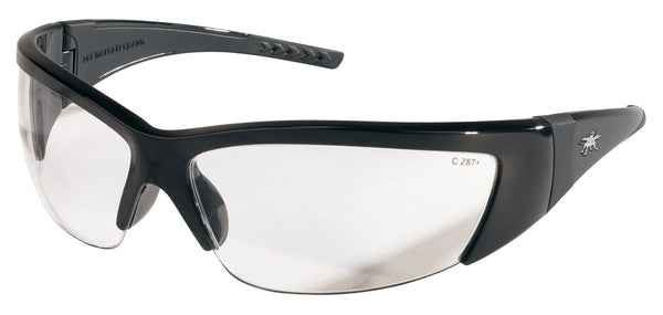 FF210 - ForceFlex® - Opague Black Frame, Clear Lens