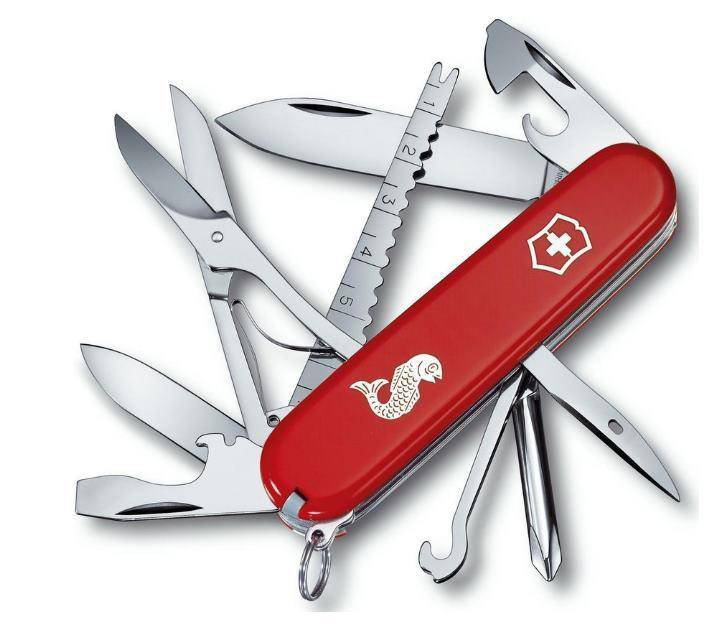 Wildhunter.ie - Victorinox Fisherman Red -  Knives