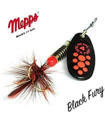 Wildhunter.ie - Mepps Black Fury Size 4 -  Game Fishing