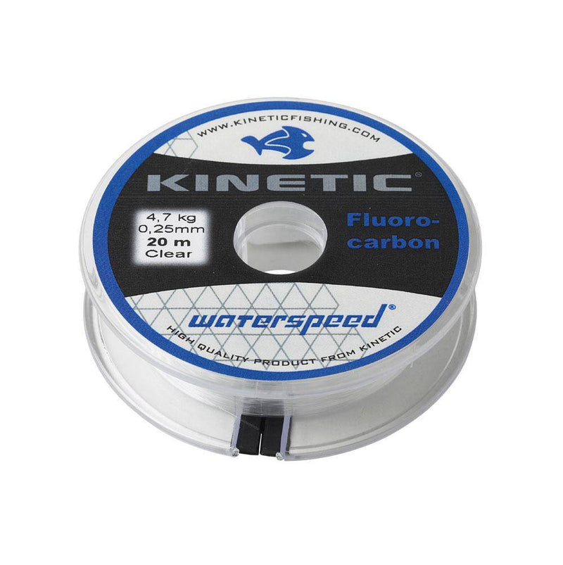 Wildhunter.ie - Kinetic | Fluorocarbon | 0.41mm | 20m | 10.0kg | Clear -  Fly Fishing
