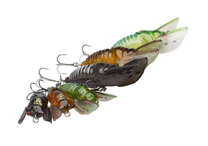 Wildhunter.ie - SG 3D Cicada 3.3cm 3.5g F Green -  Fishing