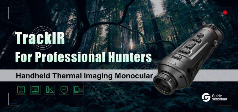 Wildhunter.ie - Guide | TrackIR 25 | Thermal Monocular | 25mm -  Night/Therm