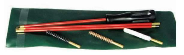 Wildhunter.ie - Classic Rifle Cleaning Kit in Plastic Bag - .22/223 -  Gun Care
