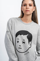 Hochburg Hansu Crewneck Sweatshirt - heather grey
