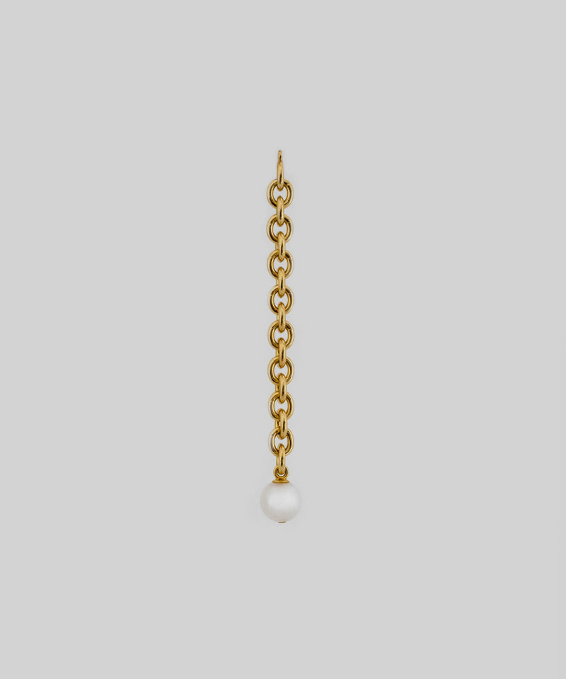 Zane Pearl Earring Ornament - Gold