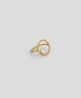 Allegra Pearl Ring - Gold