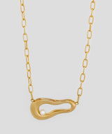 Amelie Pearl Necklace - Gold