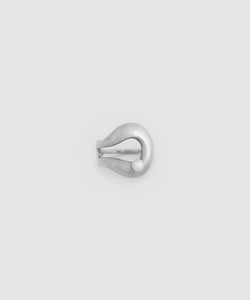 Amelie Pearl Ring - Rhodium