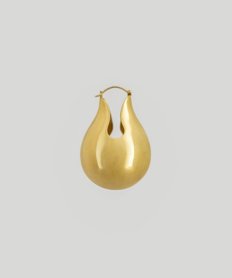 Marlo Pearl Earrings - Gold
