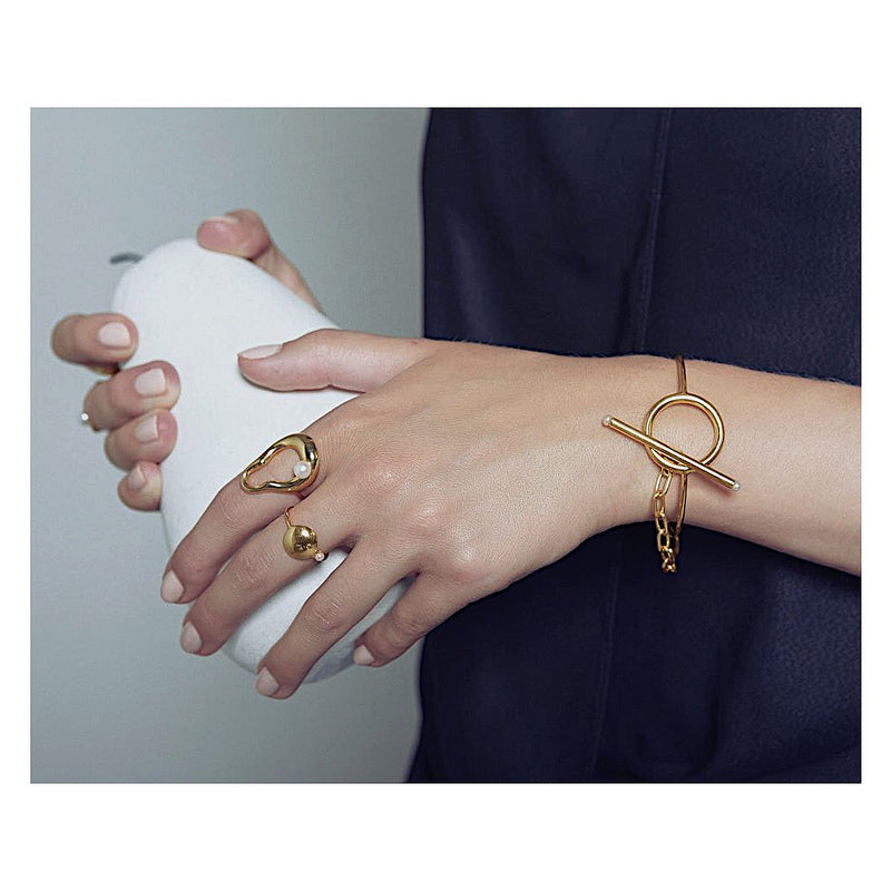 Vera Pearl Ring - Gold